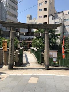 大阪天満宮星合池
