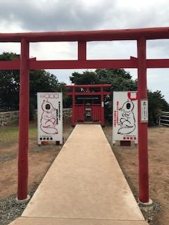 元乃隅稲成神社鳥居参拝
