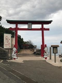 元乃隅稲成神社鳥居入り口