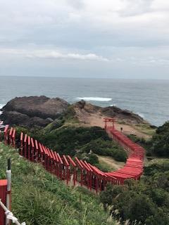元乃隅稲成神社千本鳥居