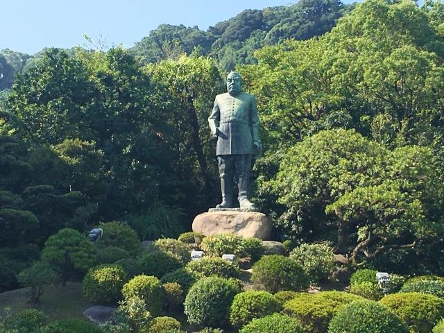鹿児島西郷隆盛銅像