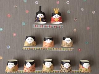 雛人形壁飾り