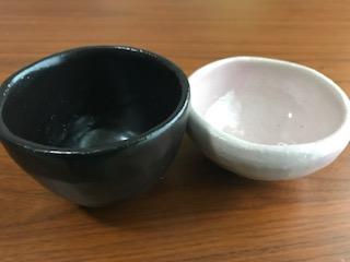 陶芸体験で作った湯呑み