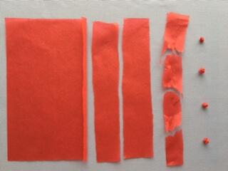 折り紙で作ったいくら
