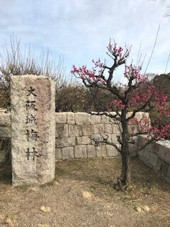 大阪城梅林(森ノ宮側入り口)