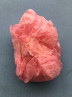 お菓子を包んだ花紙