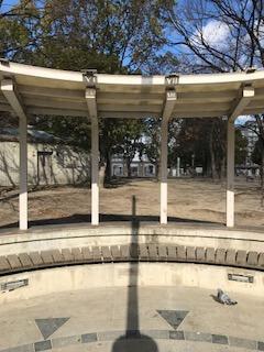 江坂公園 日の時計