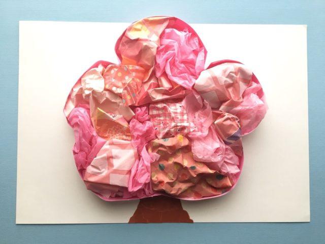 桜の飾りの完成