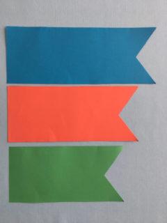 折り紙で作るこいのぼり