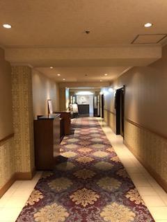 ホテルキャッスル7階のフロア