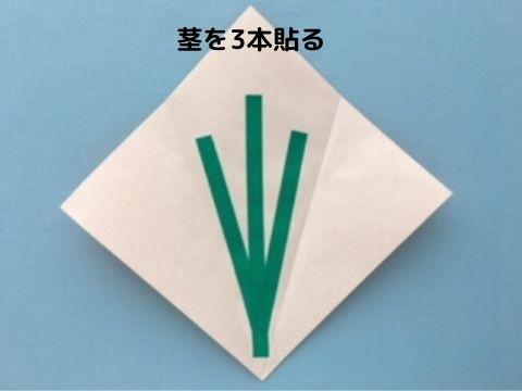 花束メッセージカードの作り方