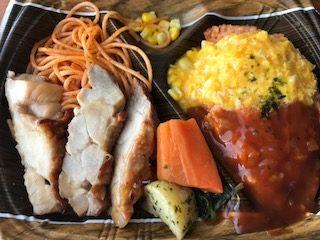 ドンキホーテの200円弁当 オムライス弁当