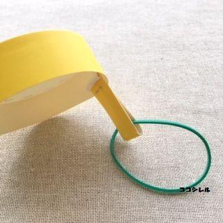 紙コップで作る腕時計の作り方