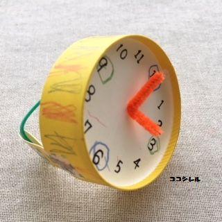 腕時計に飾り付けをする