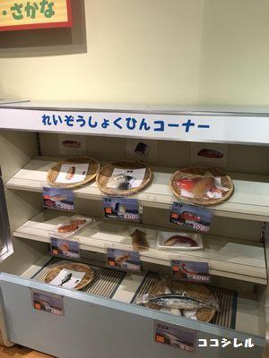 キッズプラザ大阪の冷蔵食品体験コーナー