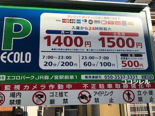 エコロパークJR森ノ宮駅前第1