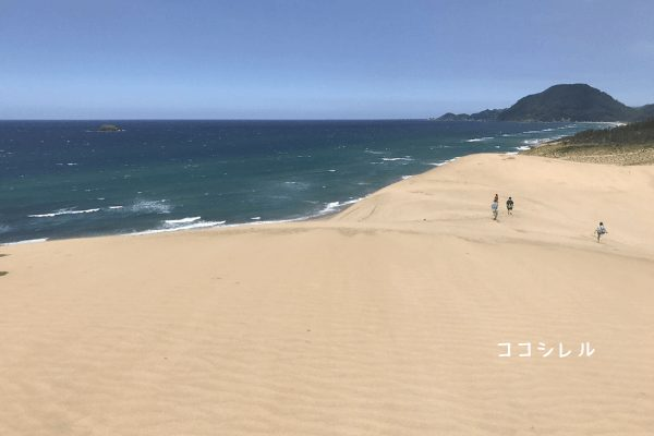 鳥取砂丘 海